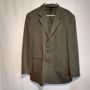 Claiborne jacket woven in Italy 44R